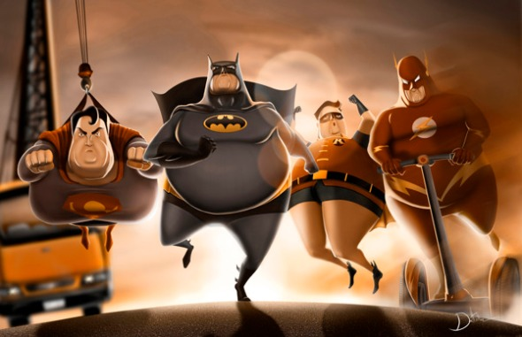 Fatty superheroes